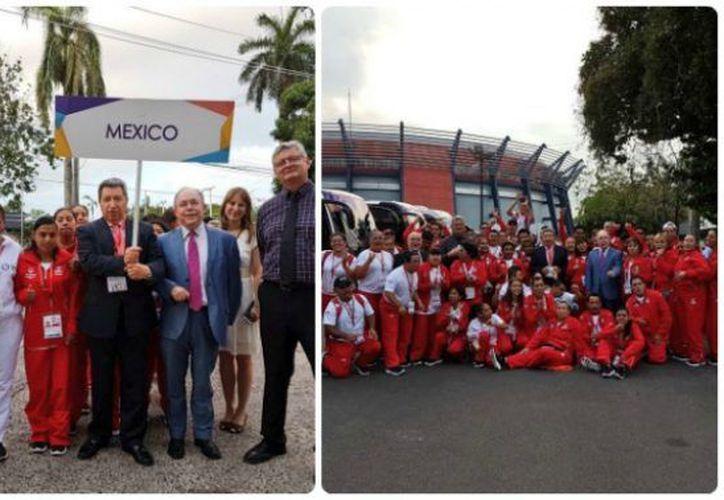 La delegación mexicana que participó en tierras panameñas. (@EmbaMexPan)
