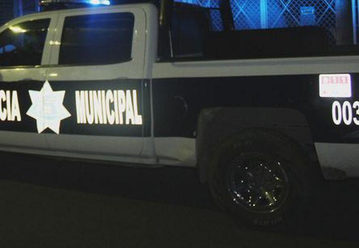 A pesar de la búsqueda de los presuntos responsables, policías no pudieron ubicarlos. (Foto: Redacción/SIPSE)