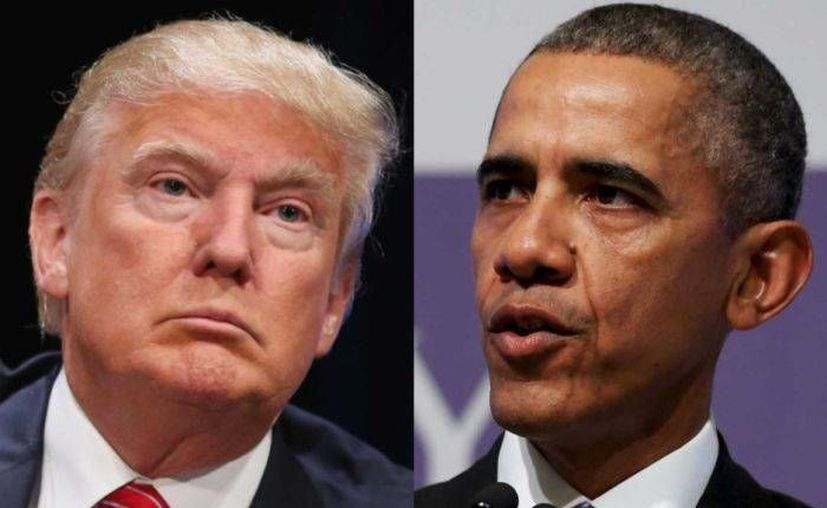 Trump, presidente electo, se reunirá este jueves con su antecesor, el expresidente Barack Obama, en la Casa Blanca. (Afp)