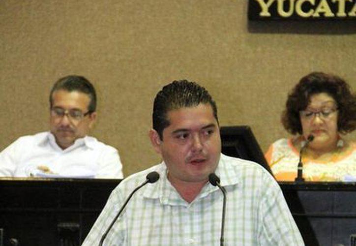 Bayardo Ojeda Marrufo anunció este miércoles que dejará el Congreso local. (Milenio Novedades)