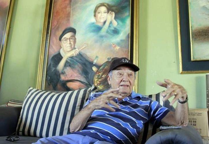 Ermilo Torre Gamboa, de 89 años, fue recipiendario de la Medalla Yucatán en el año 2000. (SIPSE/Foto de archivo)