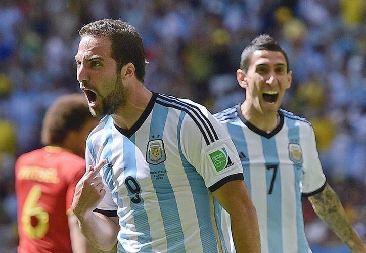 """""""Pipita"""" pagó con un valioso gol la confianza del técnico Sabella. (Foto: AP)"""