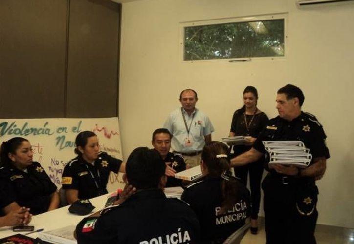Capacitación en materia de género para la Policía Municipal. (Archivo/SIPSE)