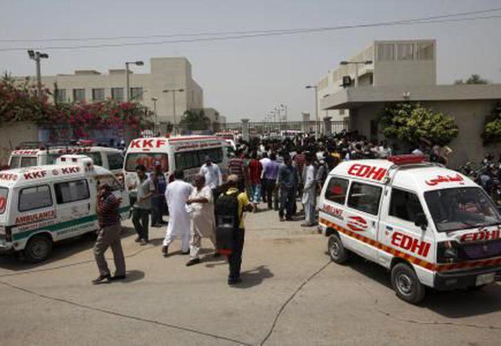 Los heridos fueron trasladados a hospitales. (El Financiero)