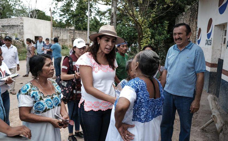 Marybel Villegas señaló que además de etiquetar recursos para el sector, se establecerán precios justos para productores. (SIPSE)
