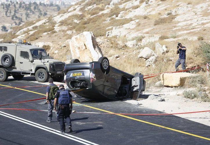 El distrito de Hebrón ha registrado en las últimas semanas un aumento de hechos violentos contra israelíes. (AP)