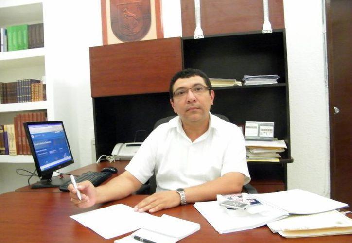 Armando Aldana dijo que este año se creó un área de convenios. (Milenio Novedades)