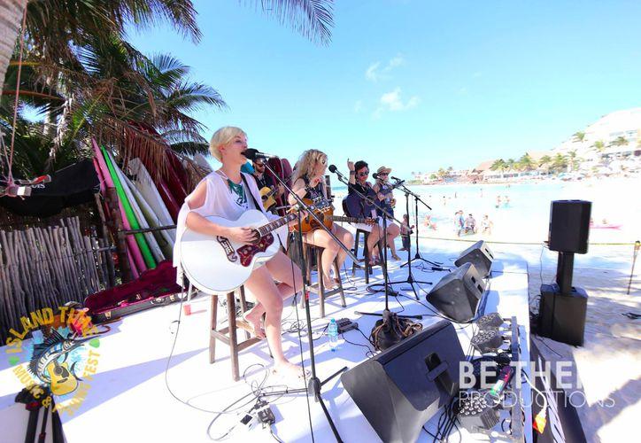 """El """"Island Time Music Fest"""", lleva ocho años realizándose, y lo organiza una comunidad de extranjeros. (Foto: Redacción)"""