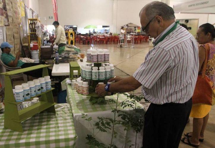 En la exhibición, que fue realizada en el Siglo XXI, se lograron  vender productos naturales (Milenio Novedades).