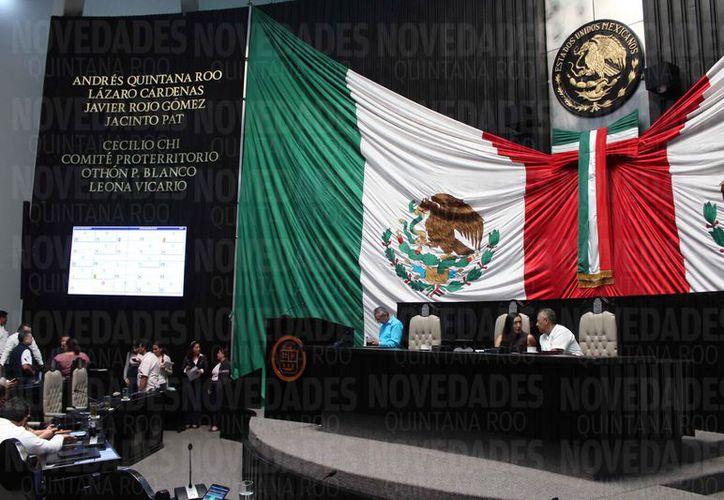 La petición fue ratificada ante el presidente de la Comisión de Justicia del Congreso del Estado. (Joel Zamora/SIPSE)