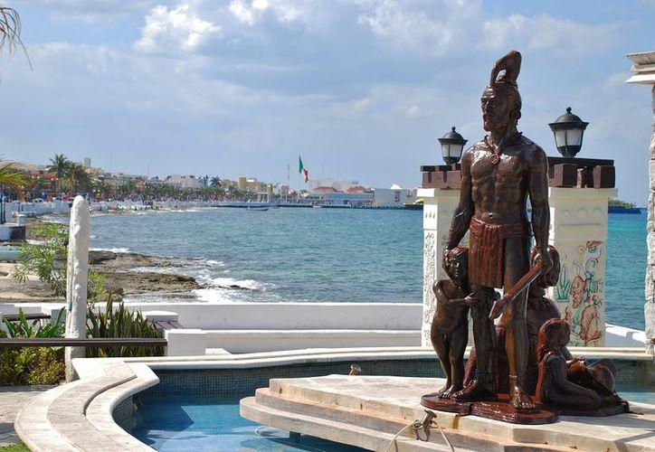 Cozumel fue puerta de entrada para los europeos que conquistaron el país. (Gustavo Villegas/SIPSE)