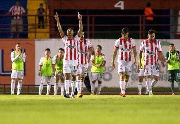 Los Rayos de Necaxa se llevaron la semifinal del torneo de Ascenso MX 2016 ante Atlante. (mexsport.com)