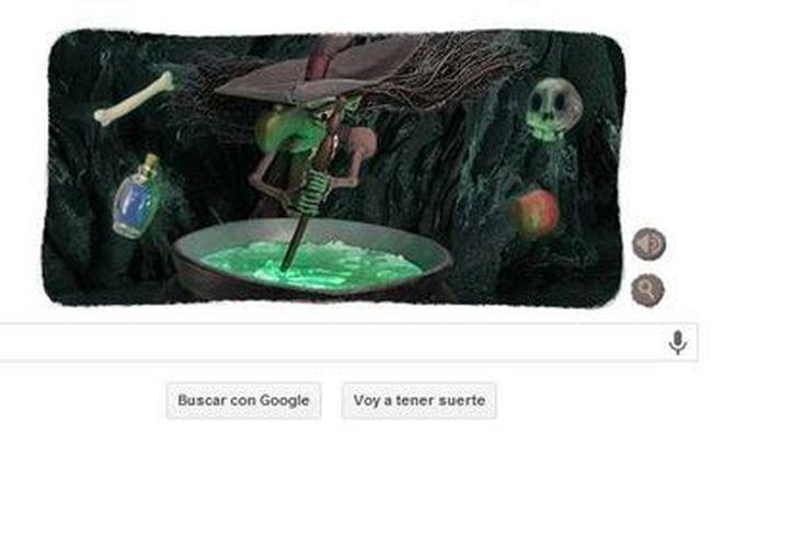 Los usuarios de Google pueden controlar lo que hace la hechicera del doodle. (Google)