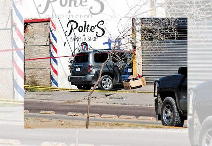 El negocio donde ocurrió el ataque de un grupo armado y en el que supuestamente se vendía droga. (Juan José García/Milenio)
