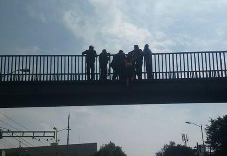 El incidente ocurrió en la colonia Nonoalco Tlatelolco de la Ciudad de México. (Twitter)