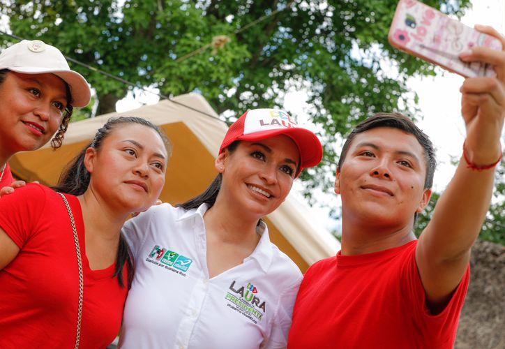 Laura Fernández explicó que actualmente Puerto Morelos cuenta con el Centro Asistencial de Desarrollo Infantil (CADI), con 81 alumnos. (SIPSE)