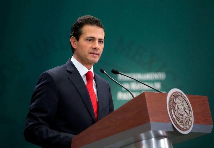 El presidente Enrique Peña Nieto recalcó que la prioridad será consolidar a México como 'un actor relevante para intensificar los flujos de comercio, inversión y turismo'. (Notimex)