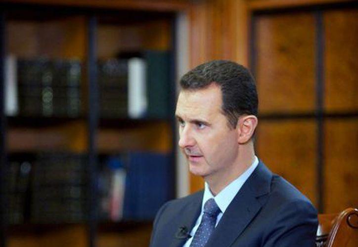 """Al Assad señaló que """"China y Rusia están jugando un papel positivo en el Consejo de Seguridad"""". (Agencias)"""