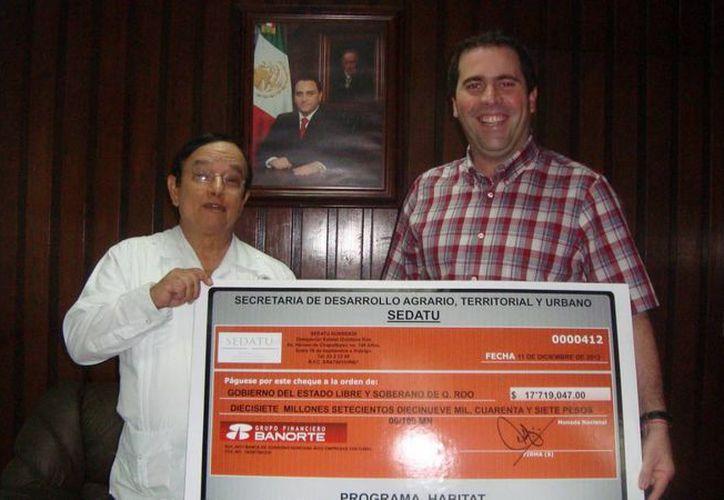 El programa Habitat, clave en el desarrollo de los cancunenses. (Redacción/SIPSE)