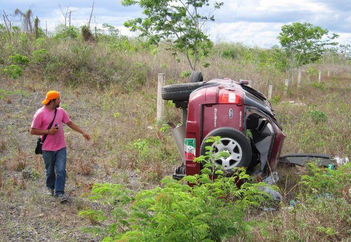 Los accidentes aumentaron de junio a julio, pero el incremento se registró antes de la temporada vacacional. (Redacción/SIPSE)
