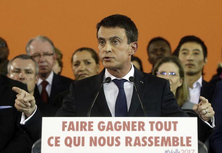 El martes Manuel Valls, nacido en España, presentará su renuncia como primer ministro francés. (AP/Thibault Camus)