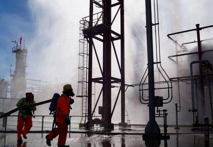 El percance no dañó las instalaciones de la refinería ubicada en Cd. Madero, Tamaulipas. (Excélsior)