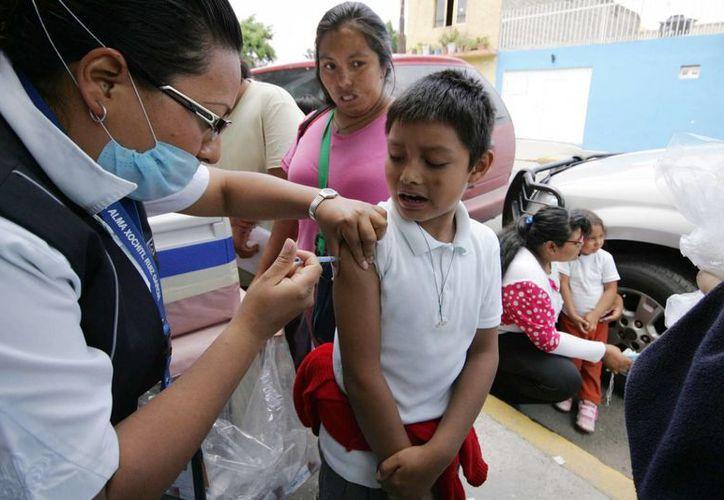 La nueva cartilla electrónica de vacunación permitirá que los padres de familia informen en qué centros no se aplican los biológicos y la causa. (Notimex/Foto de contexto)