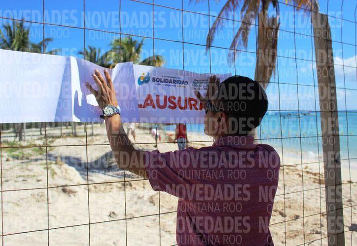 Las autoridades no especifican los costos de los sellos de suspensión o clausura. (Octavio Martínez/SIPSE)