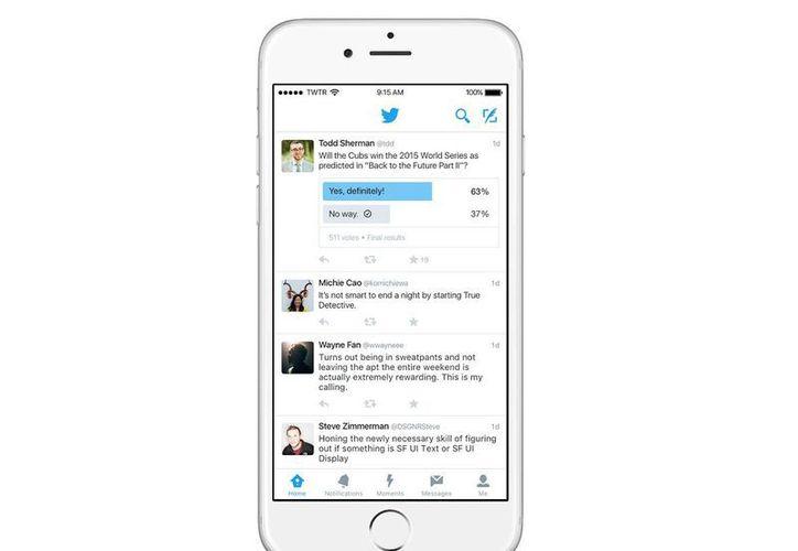 La nueva herramienta de Twitter estará disponible en los próximos días para dispositivos Android y iOS. (blog.twitter.com)