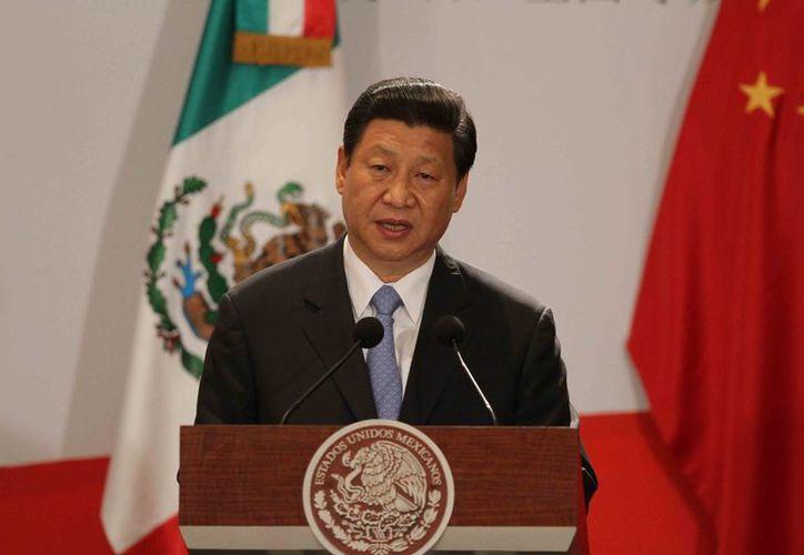 El mandatario hizo votos para que mas chinos visiten México. (Notimex)
