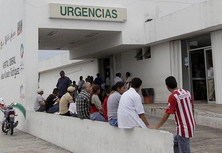 La mujer lesionada por arma de fuego, fue trasladada al Hospital General de Cancún. (Contexto/Internet)