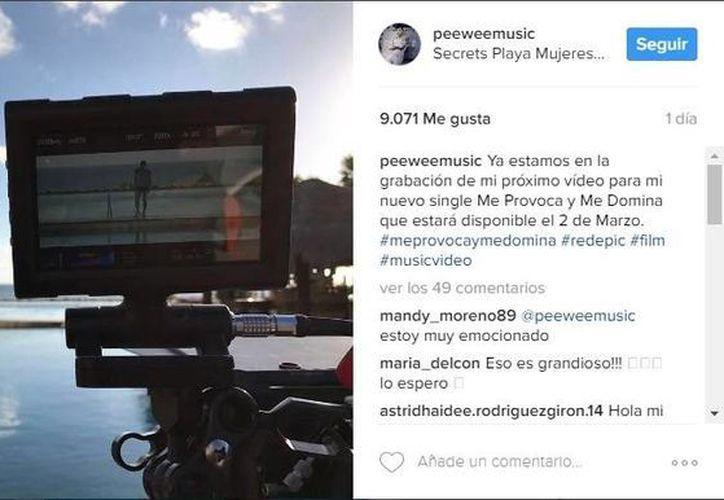 El dos de marzo podrán disfrutar del nuevo video de PeeWee. (Instagram: PeeWee)