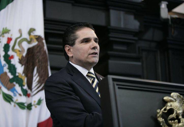 Aureoles Conejo participó en el congreso estatal del Foro Nuevo Sol que se celebró en Michoacán. (lagazzettadf.com)