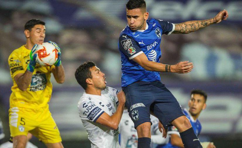 Monterrey, pese a jugar un buen trecho del encuentro en inferioridad numérica, estuvo muy cerca de quedarse con los tres puntos. (Foto: Mexsport)