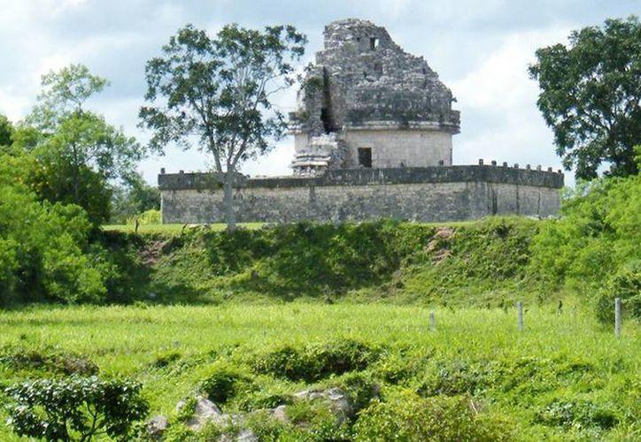 El observatorio de la zona arqueológica de Chichén Itzá. (Milenio Novedades)