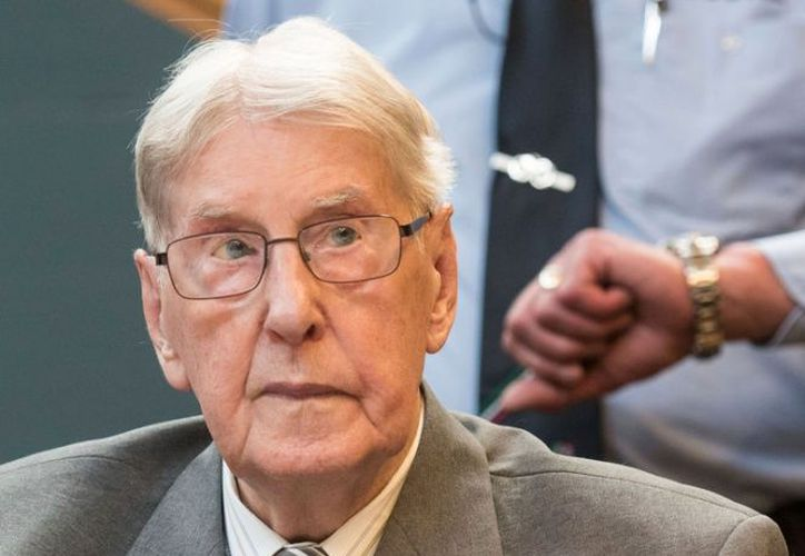 Reinhold Hanning, un exsargento de las SS nazi, falleció a los 95 años de edad. (Excélsior)