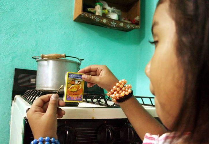 Las quemaduras en los niños ocurren principalmente en la cocina. (Milenio Novedades)