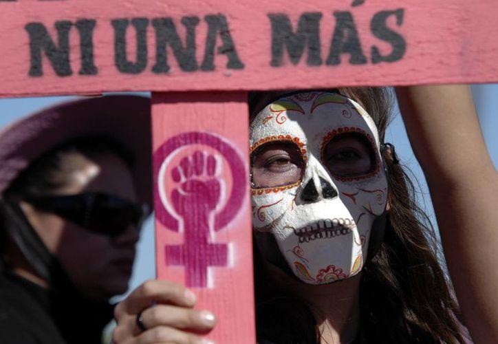 El Estado de México, Guerrero, Jalisco, Chihuahua, CdMx, Veracruz, BC, Guanajuato, Oaxaca y Puebla concentraron el año pasado el total de homicidios  contra mujeres. (Archivo/AP)