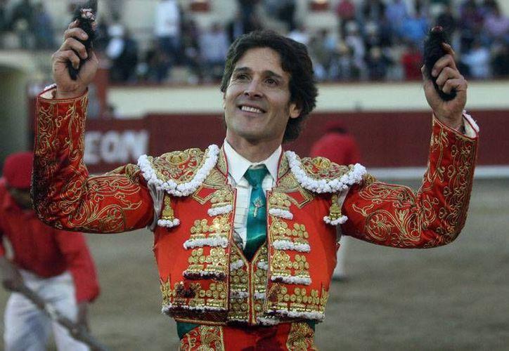 Federico Pizarro (foto) tuvo una buena faena en la Plaza México al igual que el michoacano <i>Pepe</i> López. (suertematador.com)