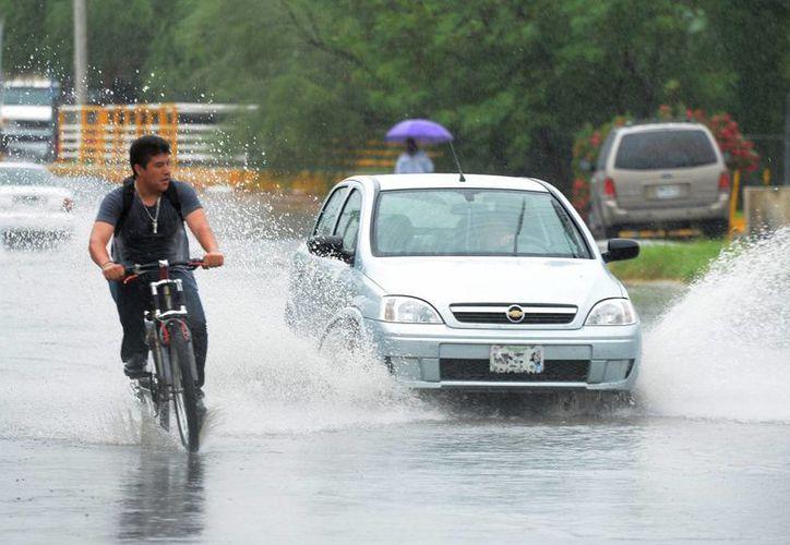 Se esperan tormentas locales muy fuertes con granizadas en Veracruz, Tabasco, Quintana Roo, Hidalgo, Puebla, Yucatán, Campeche y Chiapas. (Archivo/Notimex)