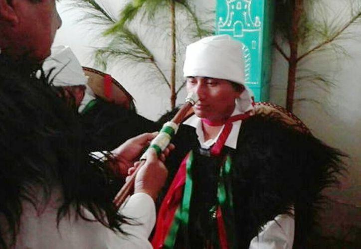 Entregan bastón de mando a presidente municipal de San Juan Chamula (Abraham Jiménez López/Milenio)