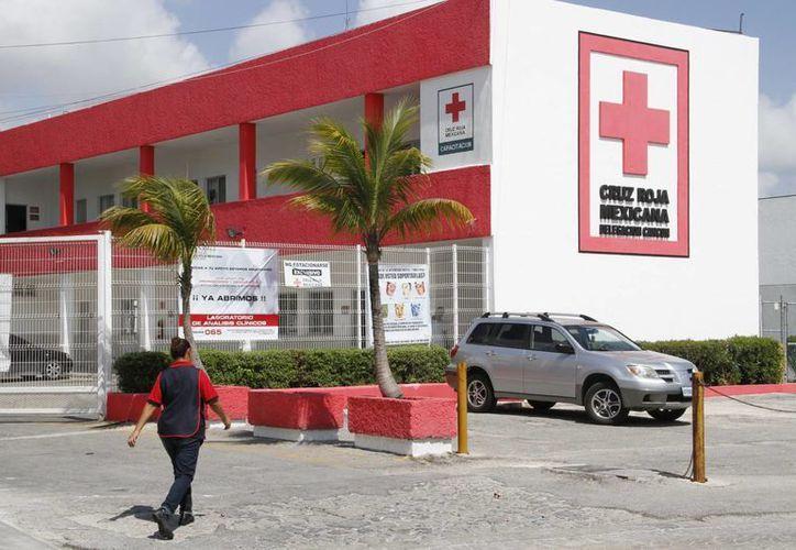 La Cruz Roja espera alcanzar la meta de la colecta. (Tomás Álvarez/SIPSE)