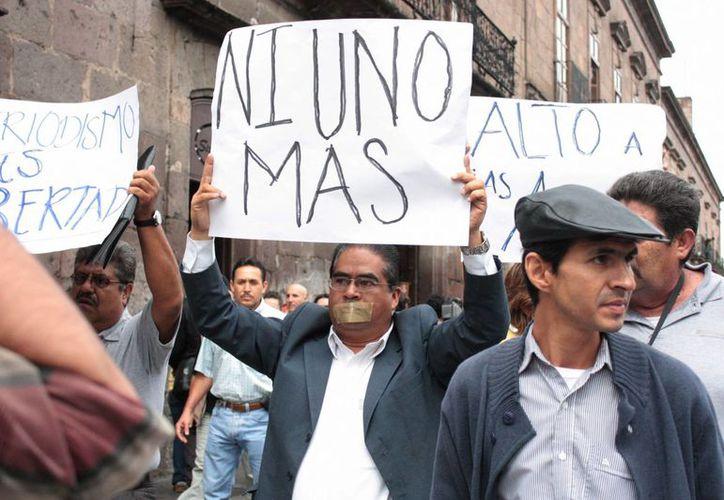 En lo que va de 2014, han sido asesinados ocho comunicadores en México, lo cual causa una 'preocupación especial' de la CIDH. (EFE/Archivo)