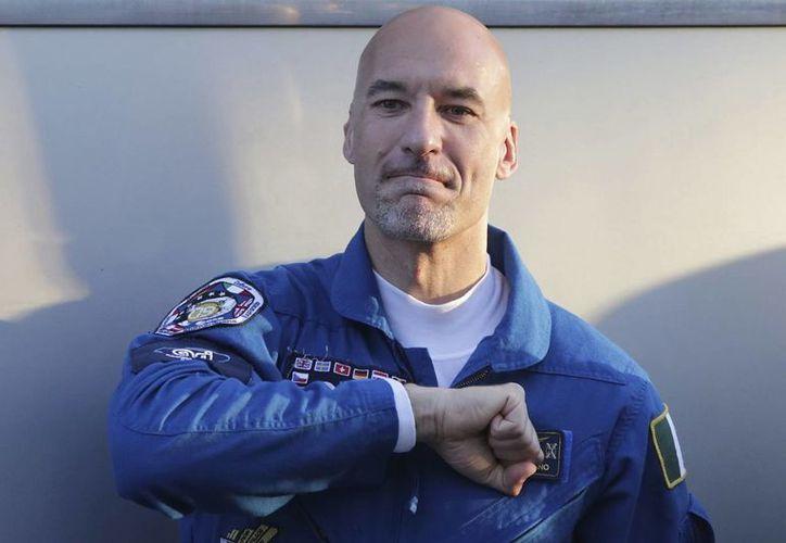 Parmitano llegó al espacio a bordo de la nave rusa Soyuz. (EFE)