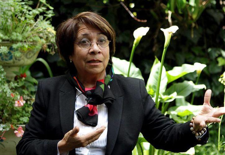 Aída Avella sufrió en 1996 un atentado que la obligó a exiliarse a Europa. (EFE)