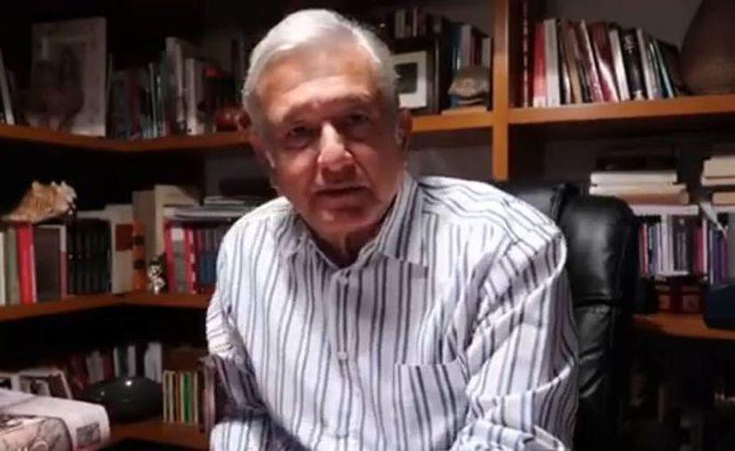 Andrés Manuel López Obrador dijo que no se pueden resolver las protestas de los maestros 'con la fuerza'. (Facebook/Andres Manuel Lopez Obrador)