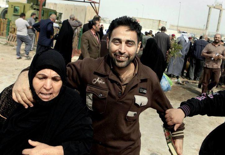 Varios presos de Bagdad fueron liberados para calmar a inconformes sunitas. (Agencias)
