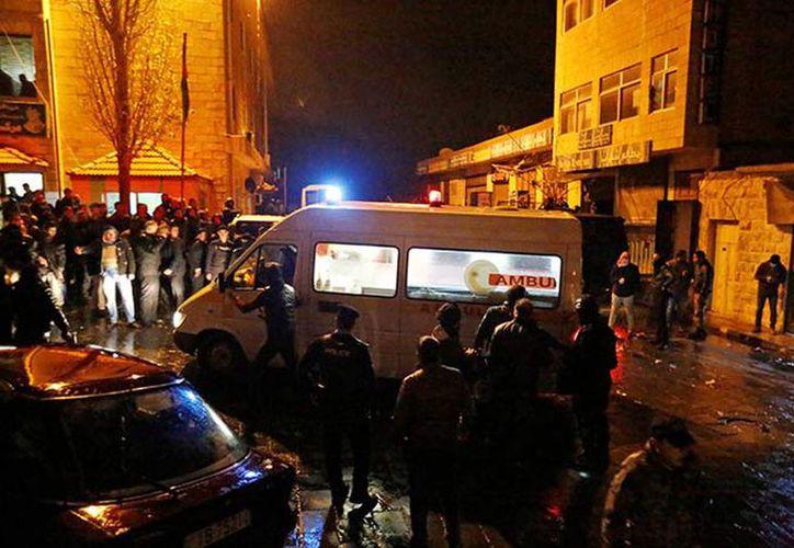Se cree que entre 5 y 6 individuos dispararon contra los agentes en Jordania. (Excelsior vía Reuters)