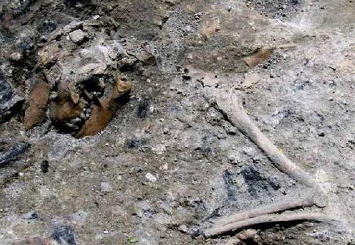 Mientras se realizaba la construcción de una línea del metro de Roma se hallaron vestigios de un edificio del siglo III. (Milenio.com)