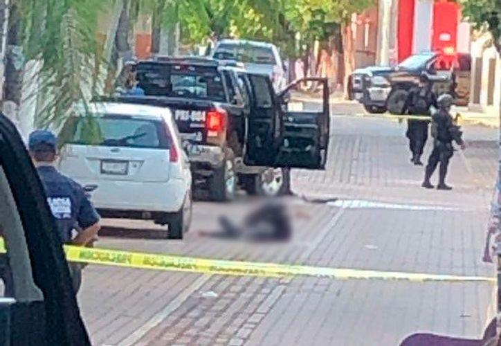 Los policías pertenecientes a la Fuerza Única Regional, fueron agredidos por un grupo armado. (Internet)